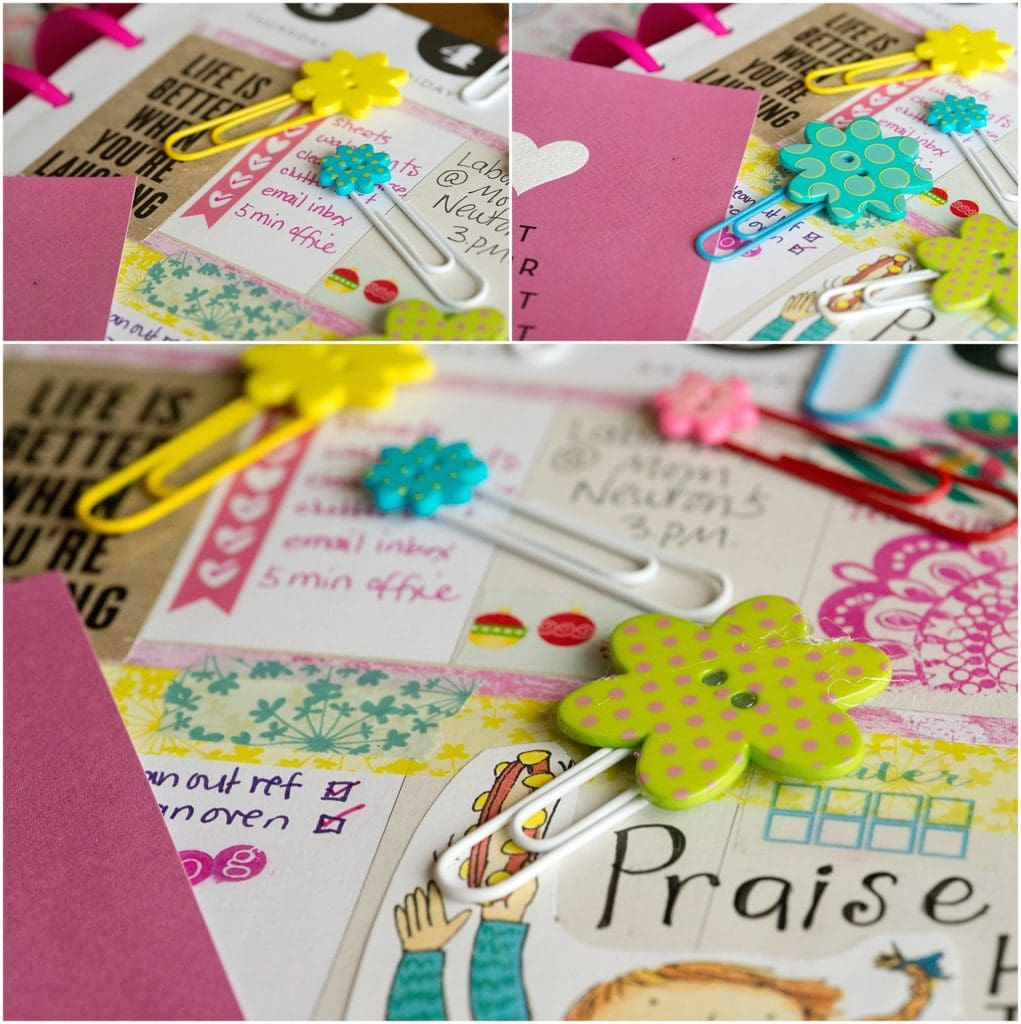 x DIY Clips for Paper Planning, Bible Journaling and Art Journaling