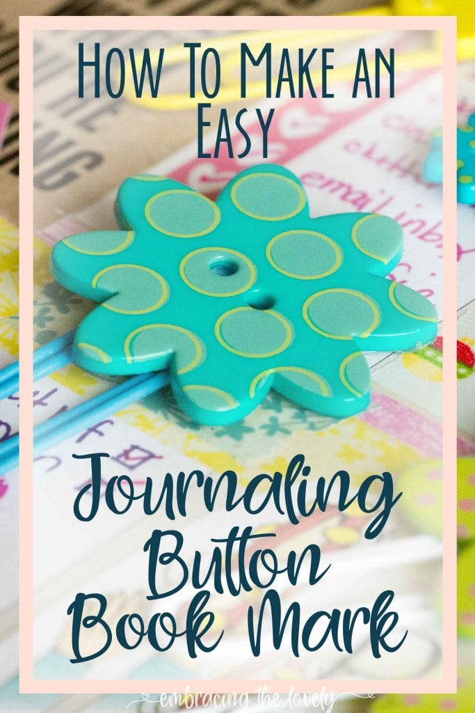 x How to Make Personalized Bookmarks- Paper Clip and Button Bookmarks