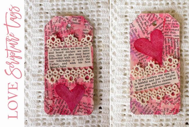 Love Scripture Tags
