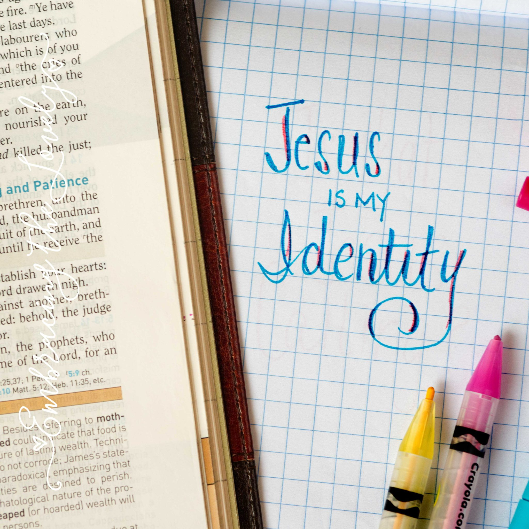 """You might be suffering from Spiritual Identity Amnesia if you've ever asked yourself the question""""What is my Identity in Christ?' Join Hey Creative Sister and learn about who you REALLY are in the Lord!"""