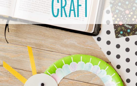 Easy Paper Plate Crafts for Kids- Inchworm