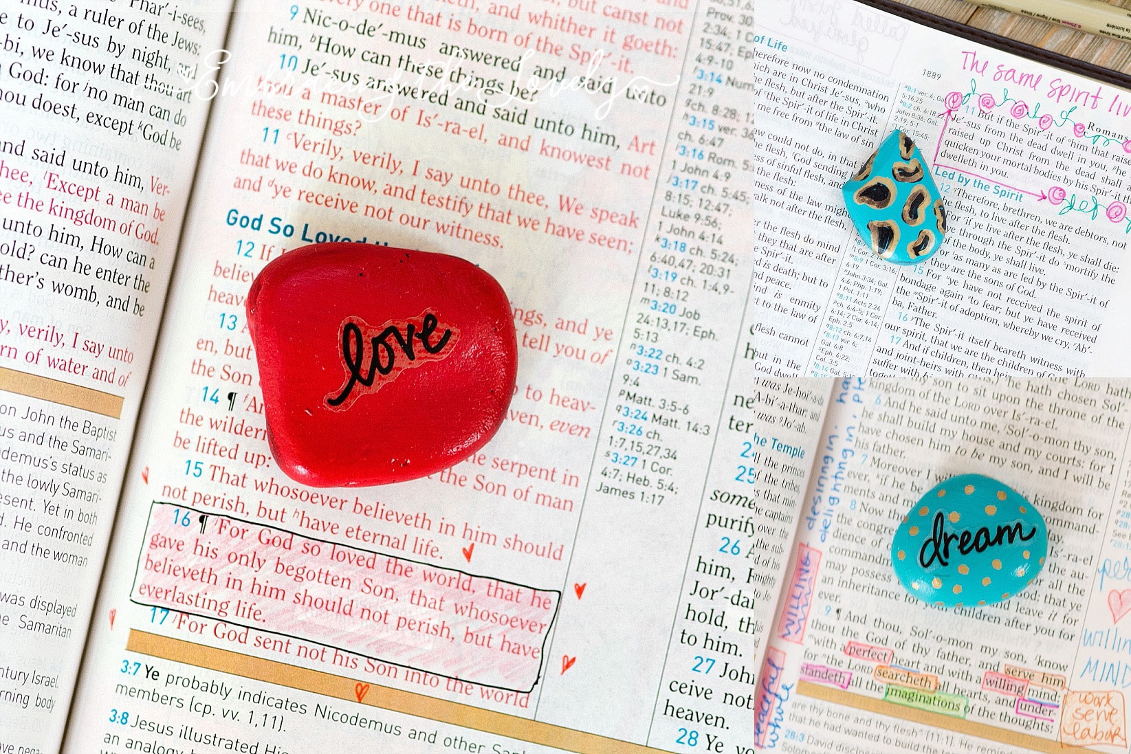 Do you want to plant a seed in heart of someone in a new and creative way? Spread the gospel with this easy rock painting project with Hey Creative Sister