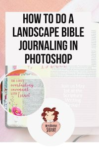 Learn Bible Journaling Digitally with this Easy Tutorial