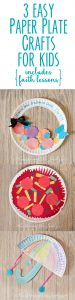 3 Easy Paper Plate Craft Ideas