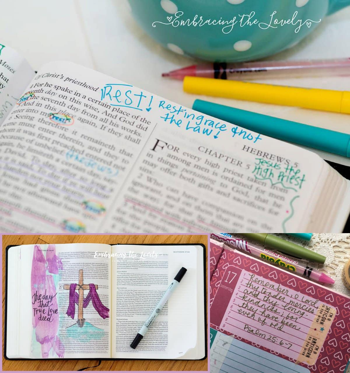 6 Creative Bible Study Methods to Grow Your Faith with Hey Creative Sister
