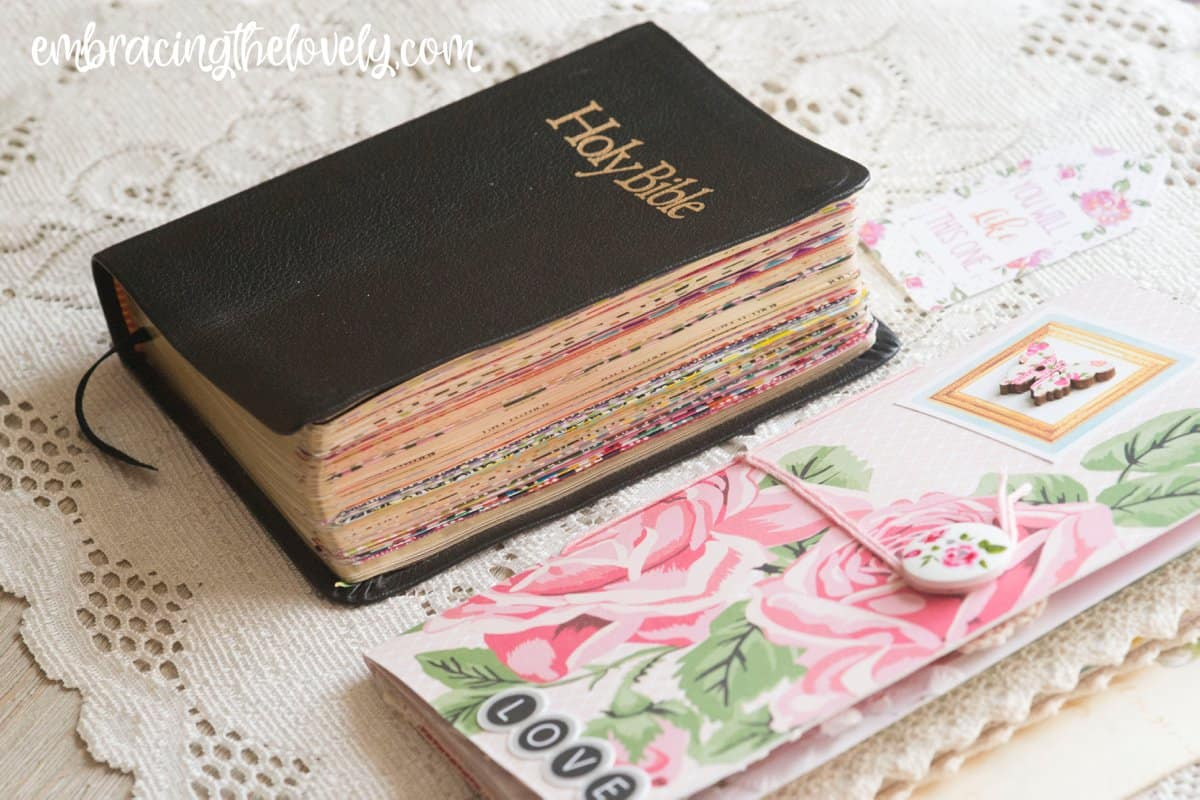 Decorate your Bible with These Creative Washi Tape Bible Divider Tabs and Make it Easy To Navigate Your Bible with Hey Creative Sister