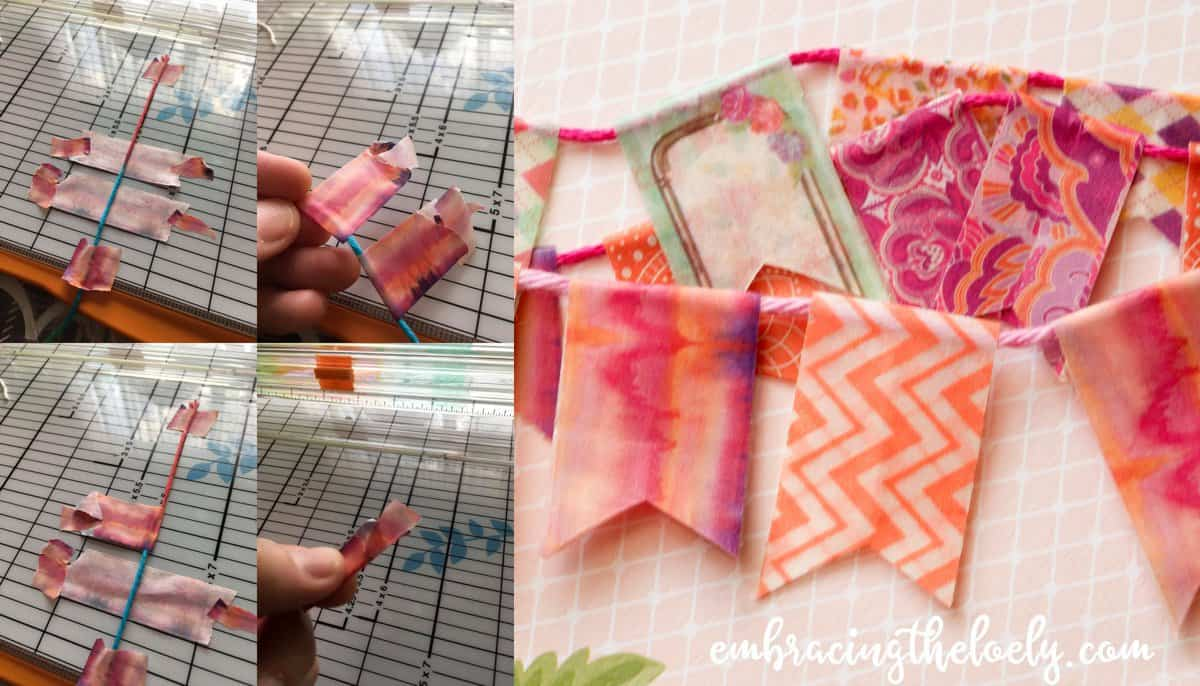 Looking for a New Way to Use Washi Tape in Bible Journaling? This tutorial will show you How to Make a Bible Washi Tape Banner for Journaling, Scrapbooking and Planning