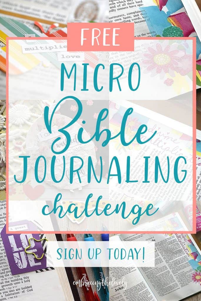 Join the Free Micro Bible Journaling Challenge