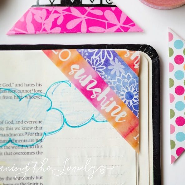 7 Creative Ways for Using Washi Tape in Bible Journaling with Hey Creative Sister