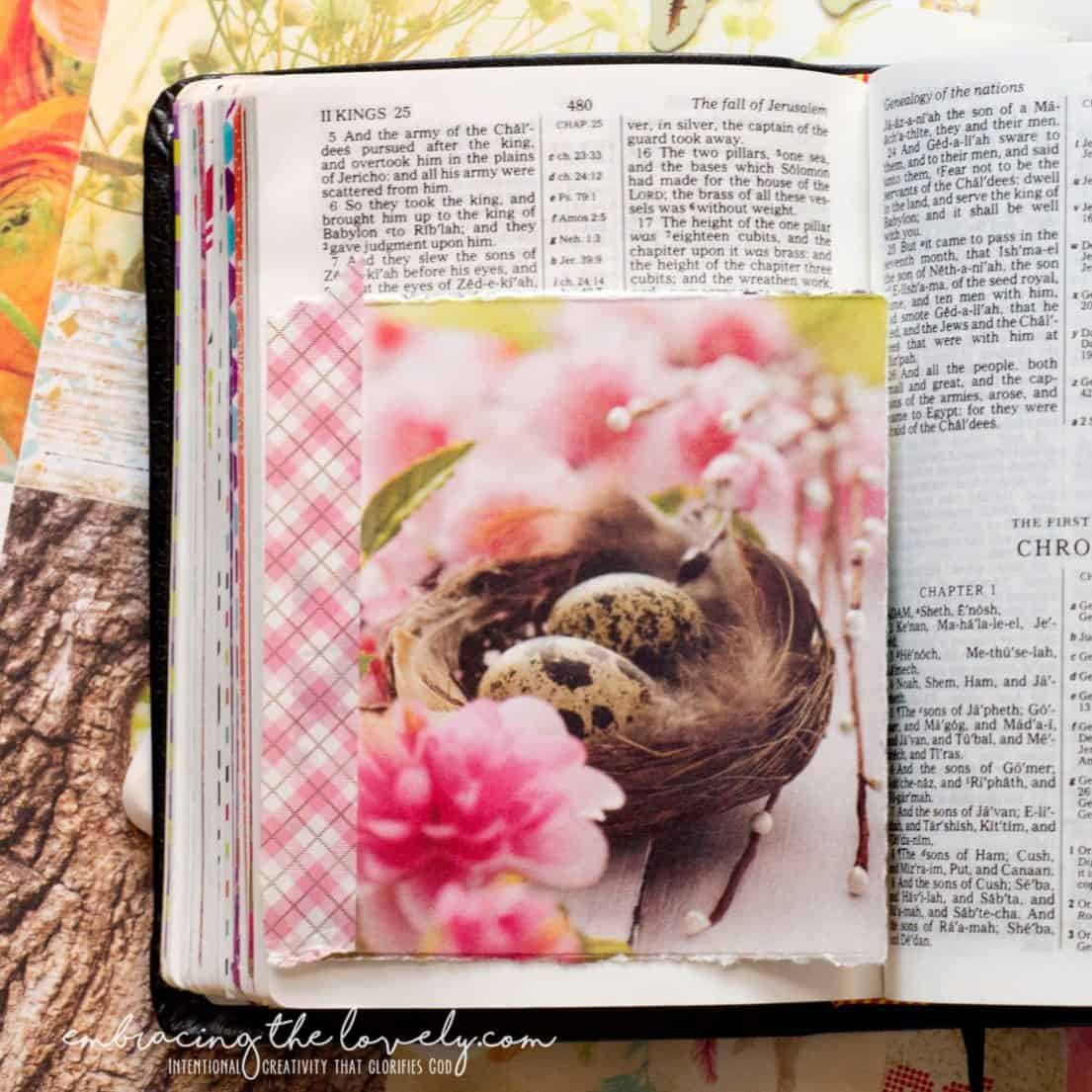 7 Creative Ways for Using Washi Tape in Bible Journaling