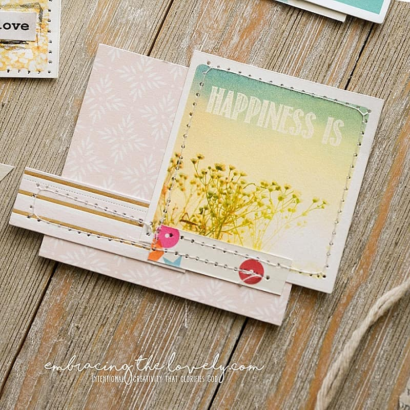 These Easy to Make Journaling Mini Collage Ideas will help you Journal in the Margins of Your Bible in a New and Creative Way with Hey Creative Sister