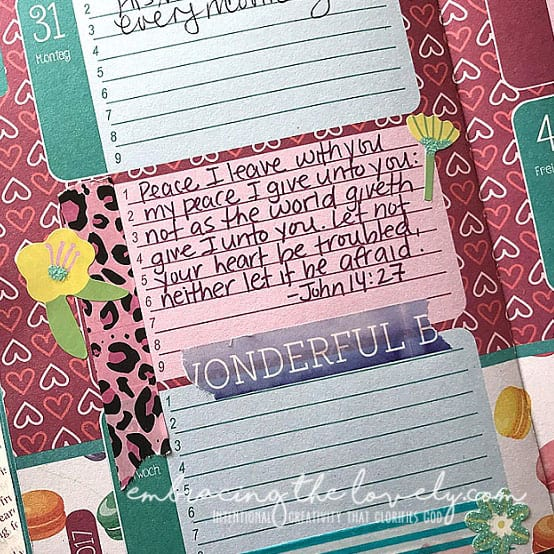 These 10 Bible Verses of Encouragement are perfect for Scripture Writing and will Help you Through the Difficult Times of Life with Hey Creative Sister