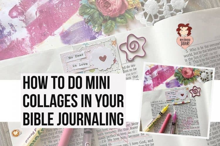 Easy Mini Collage Journaling Ideas [Bible Journaling in the Margins]