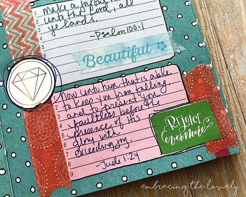 These Joy Scriptures will give you a biblical perspective into what joy really is- even in the difficult times with Hey Creative Sister