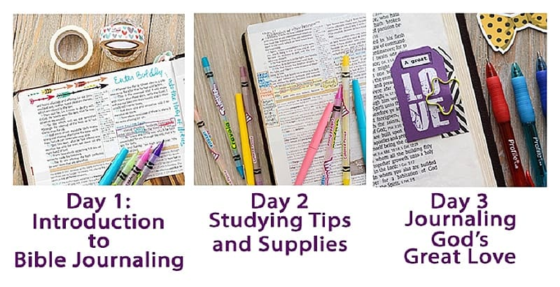 Micro Bible Journaling Challenge with Hey Creative Sister
