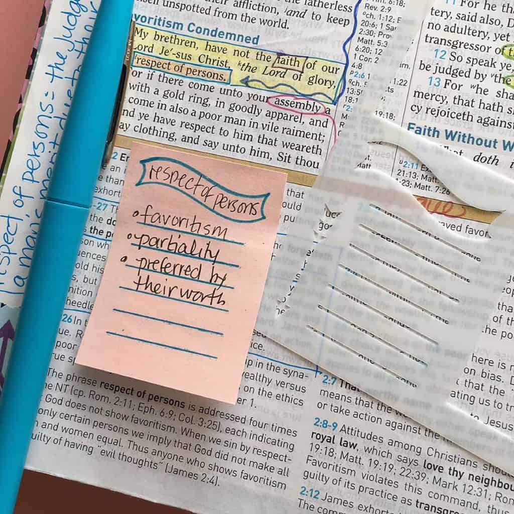 Quick Bible Study Ideas Using Stencils for Studying your Bible with Hey Creative Sister