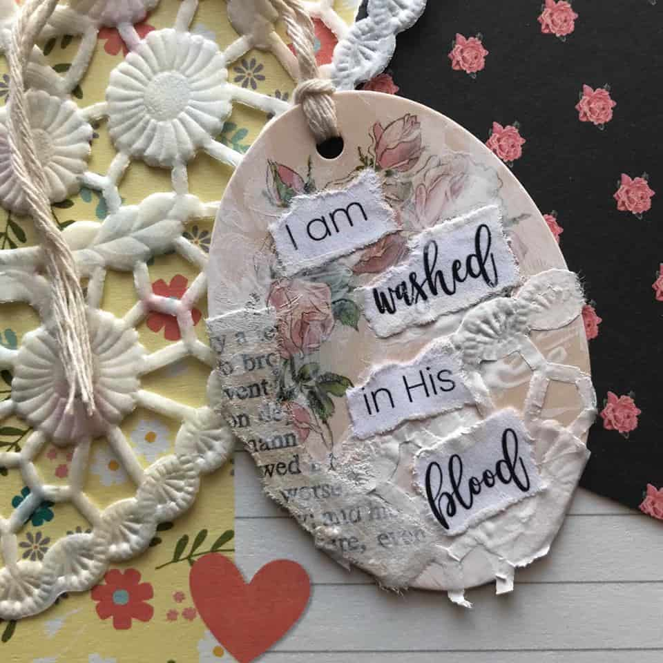 There's No Need to Write in Your Bible with These Lovely Tags You can Make and Clip in Your Bible with Hey Creative Sister