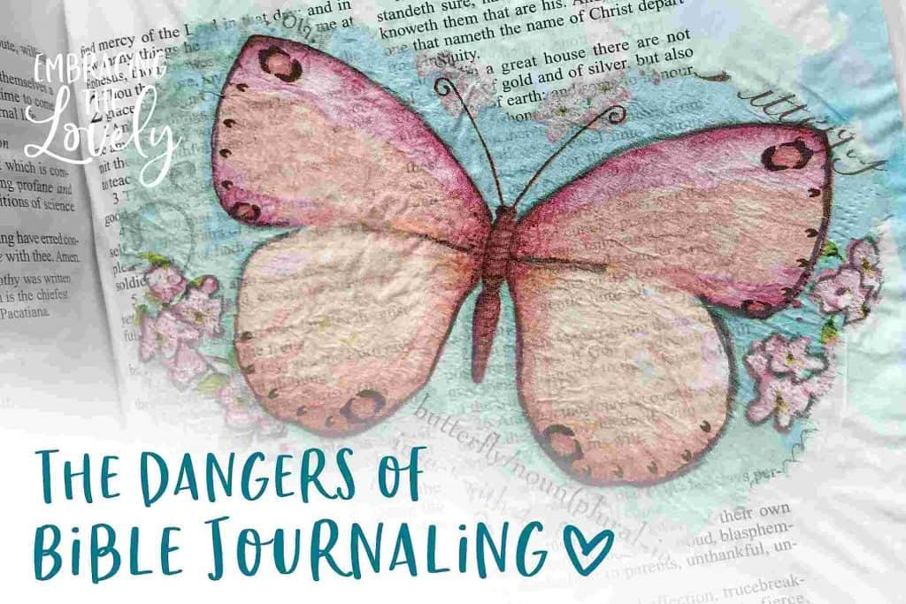 The Pitfalls of Bible Journaling