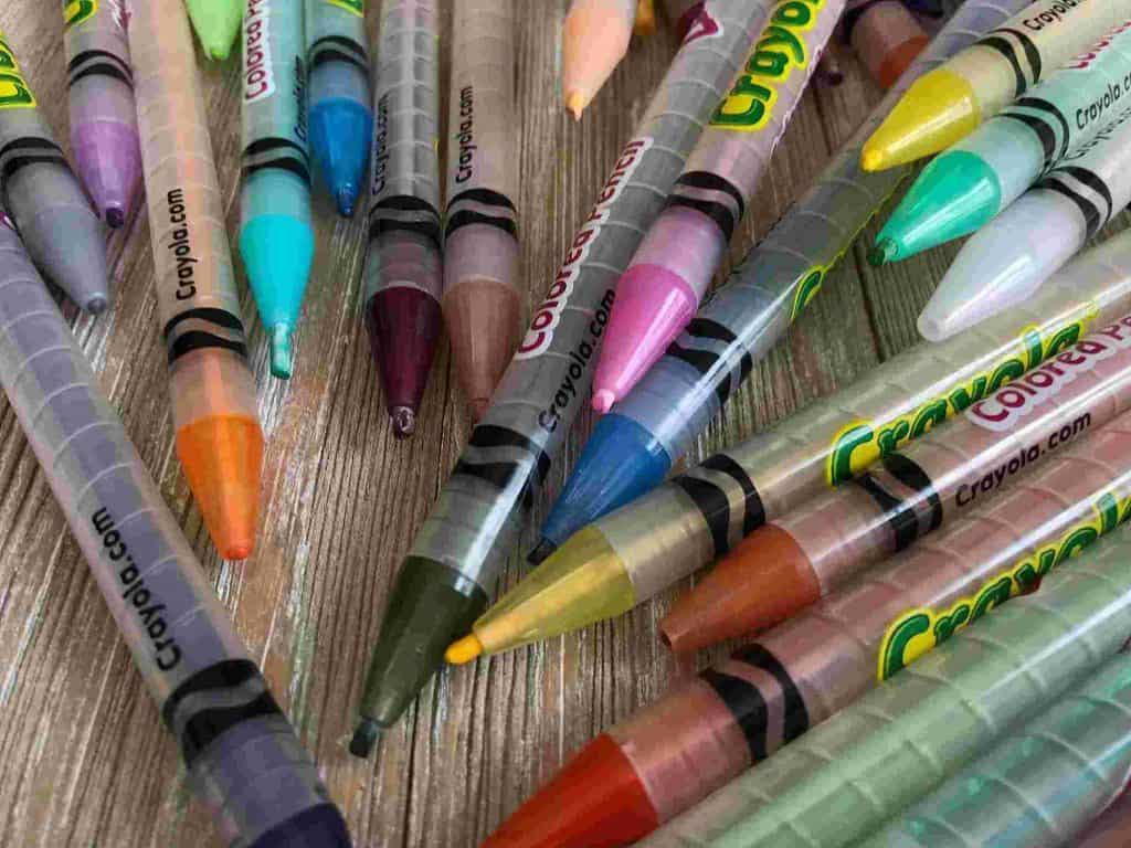 Using Crayons in Bible Journaling- Where to find