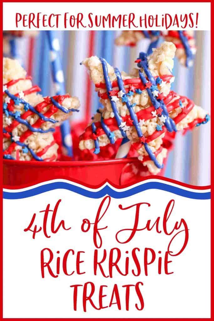 4th July Rice Krispie Treats