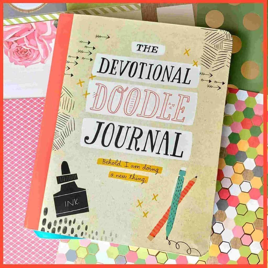 5 Easy steps to creatively doodle through BIble studies and your devotional time