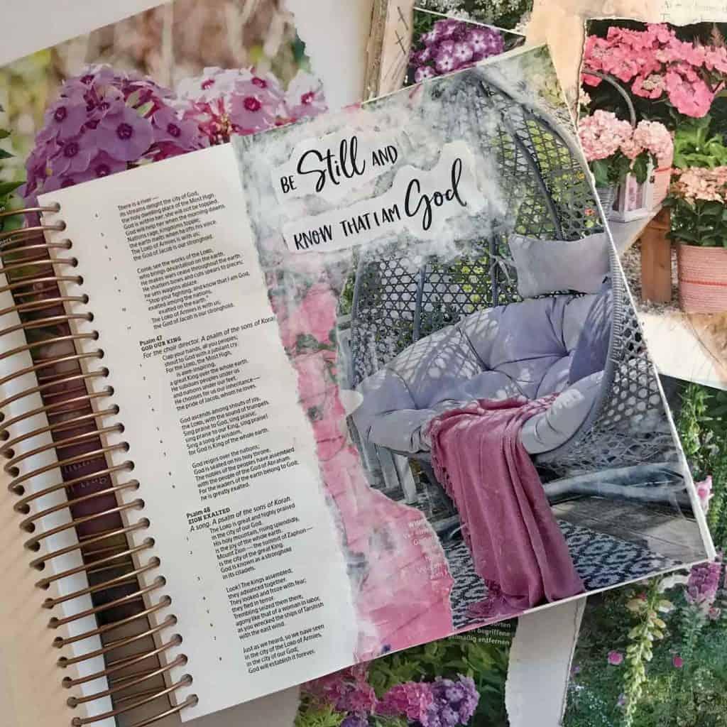 Magazine Bible Journaling Techniques