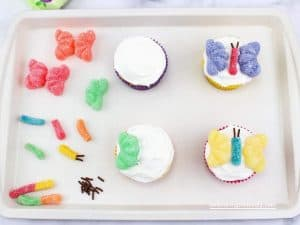 Cute Butterfly Cupcake Decorations