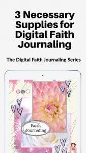 Supplies for Digital Journaling #faithjournaling #digitaljournaling #digitalfaith