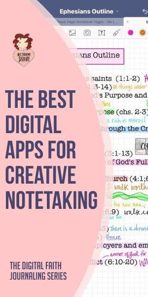 Digital Apps for Notetaking