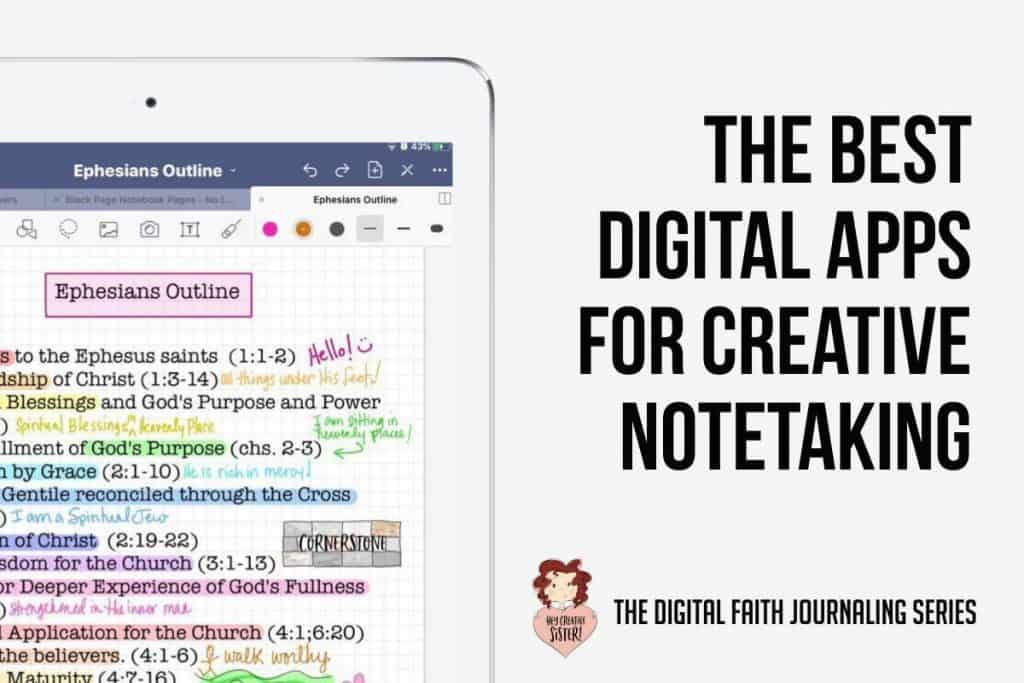 The Best Digital Apps for Creative Notetaking