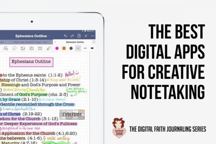 The Best Apps for Digital Note Taking