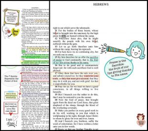 Bible Journaling Digitally with Planner Stickers