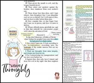 Supplies for Digital Bible Journaling