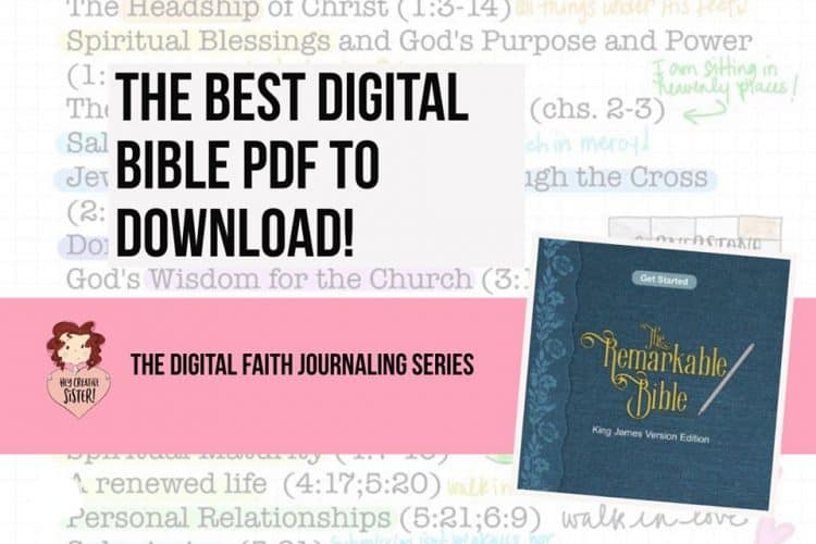 Free Bible to Download-The Best Digital Bible PDF