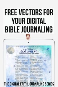 Download Free Vector Graphics for your Faith Journaling
