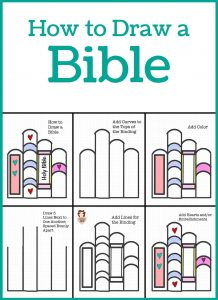 How to Doodle a Bible 4 Easy Ways!