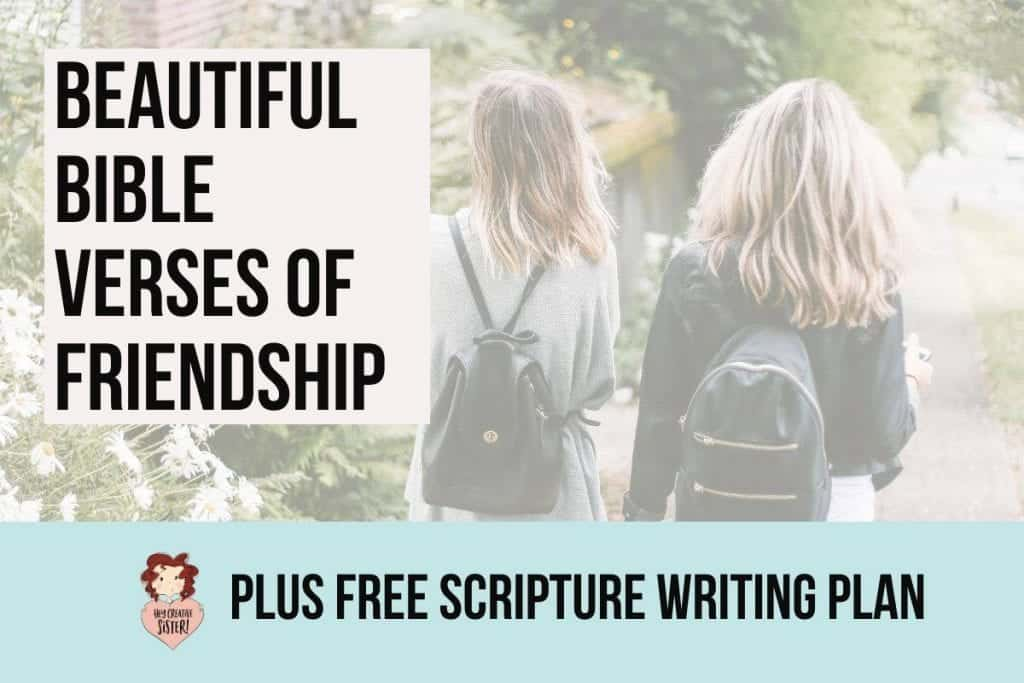 Bible Verses of Friendship