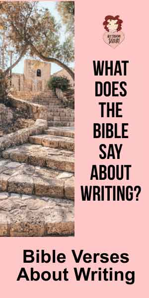 What Does the Bible Say About Writing