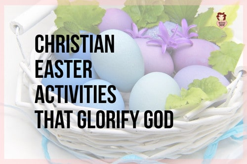 Bible activities for easter