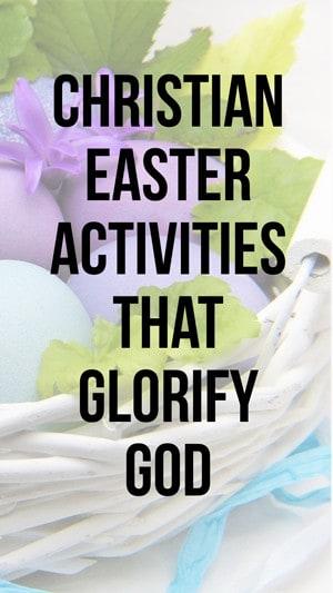 Christian Easter Alternatives for Easter