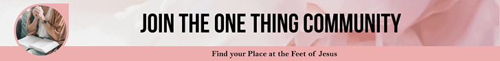 Join the One Thing Community