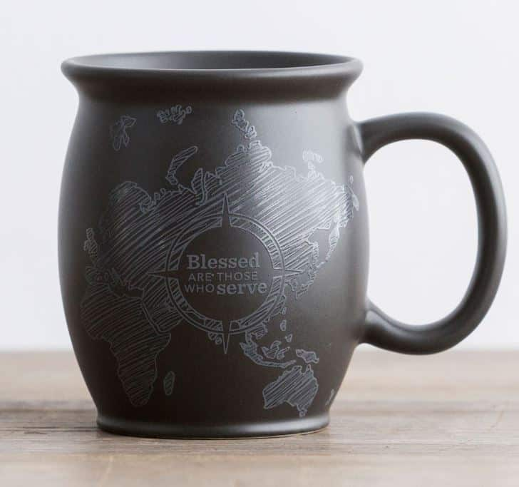 Dayspring- Blessed are Those who Serve Mug